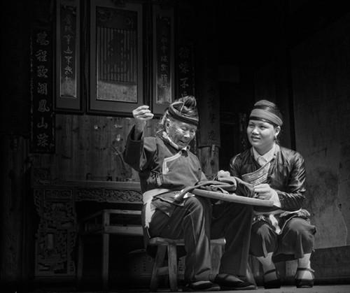 畲族女人-胡艺沛作品